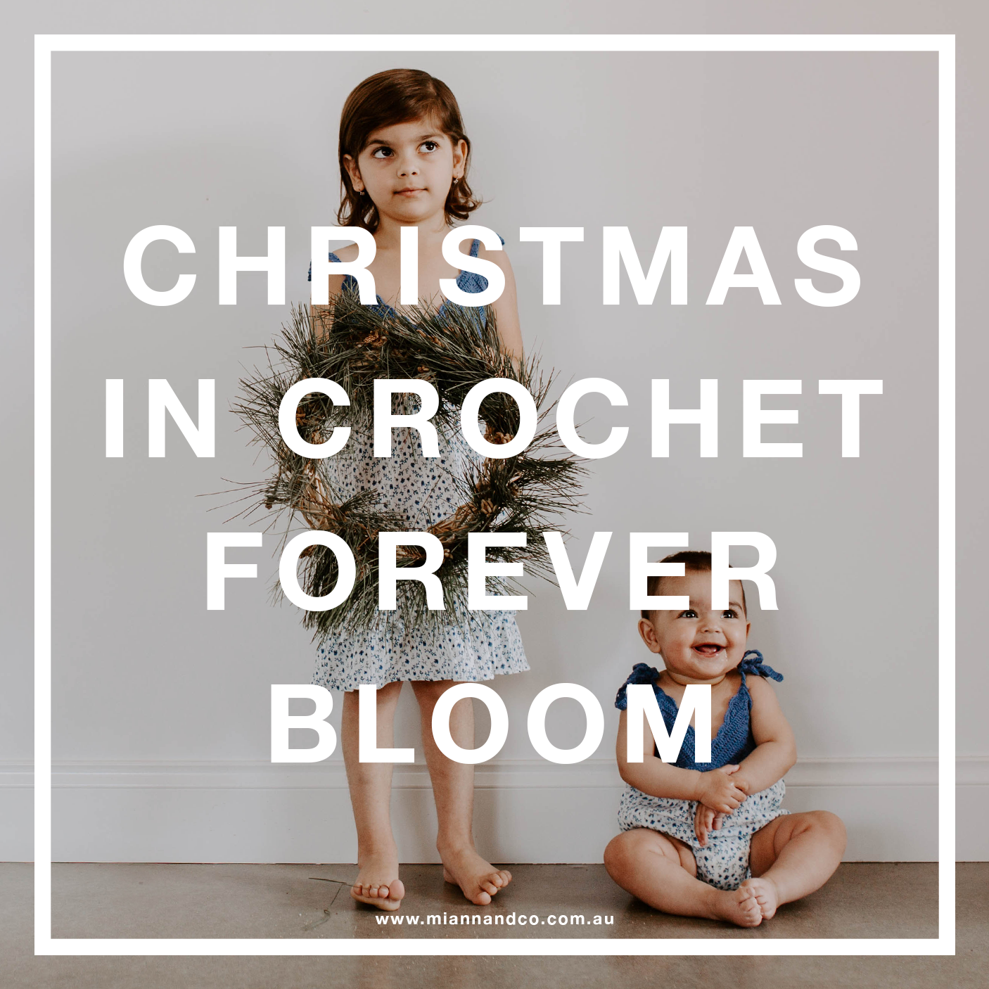 christmas in crochet forever bloom