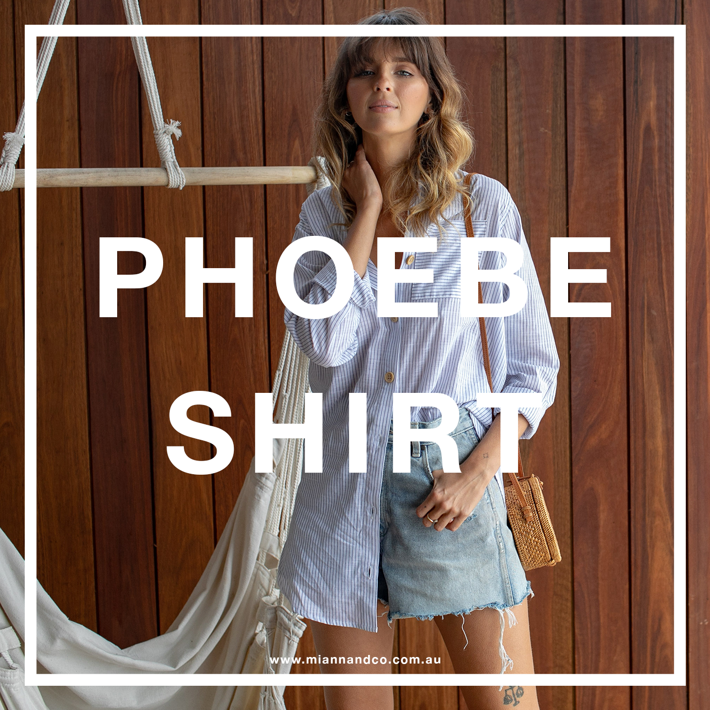 phoebe shirt white