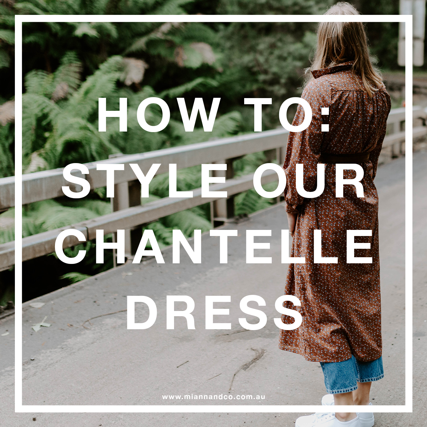 STYLE OUR CHANTELLE DRESS