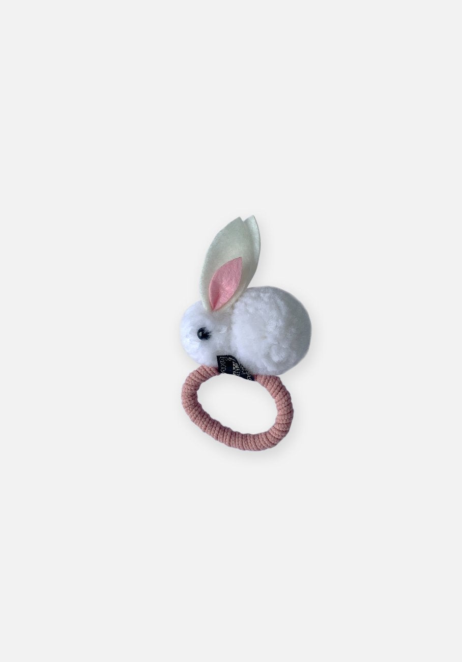 Little Bunny Hair Tie - White