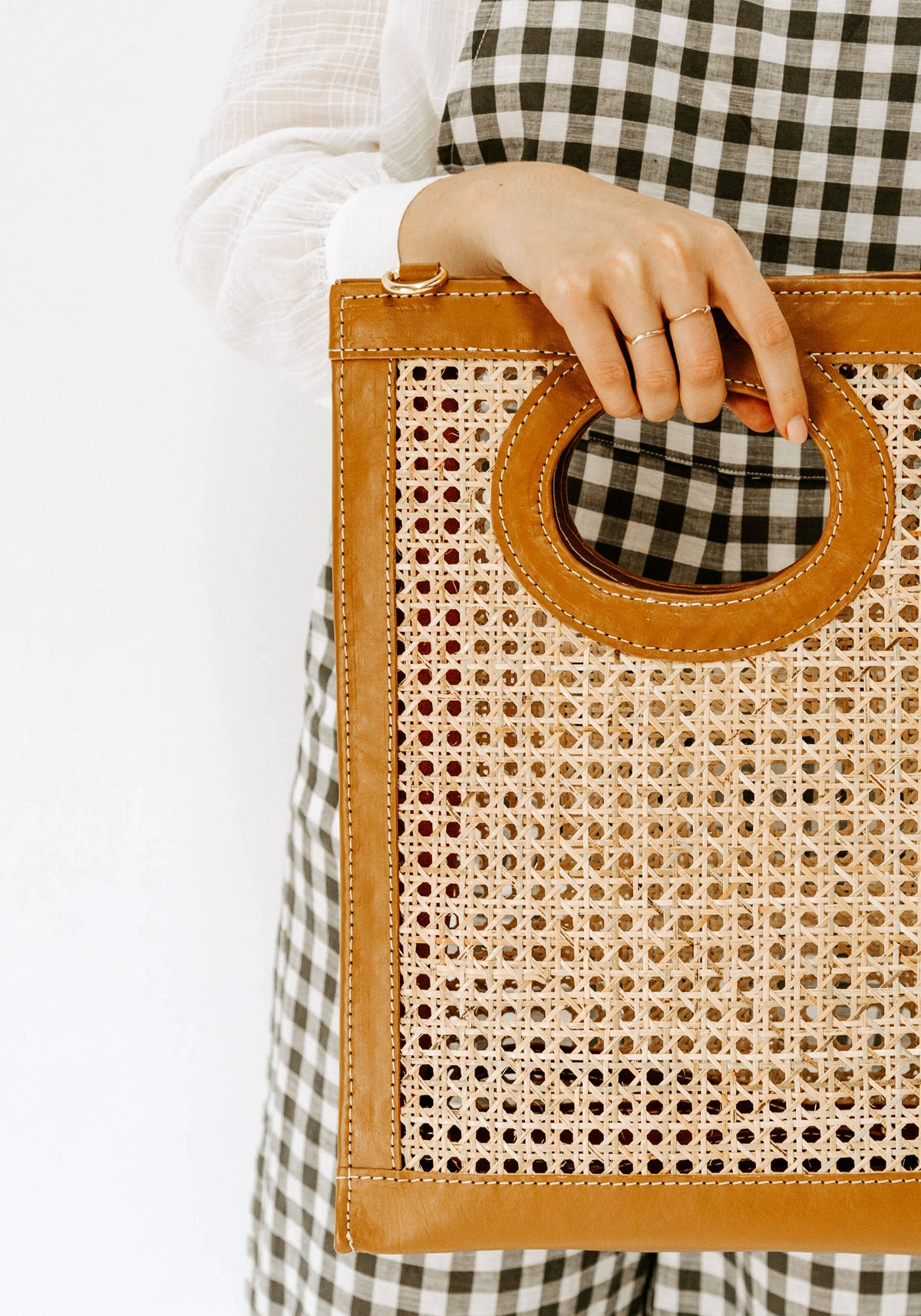 Miann & Co Womens - Madu Rattan Bag - Butterscotch