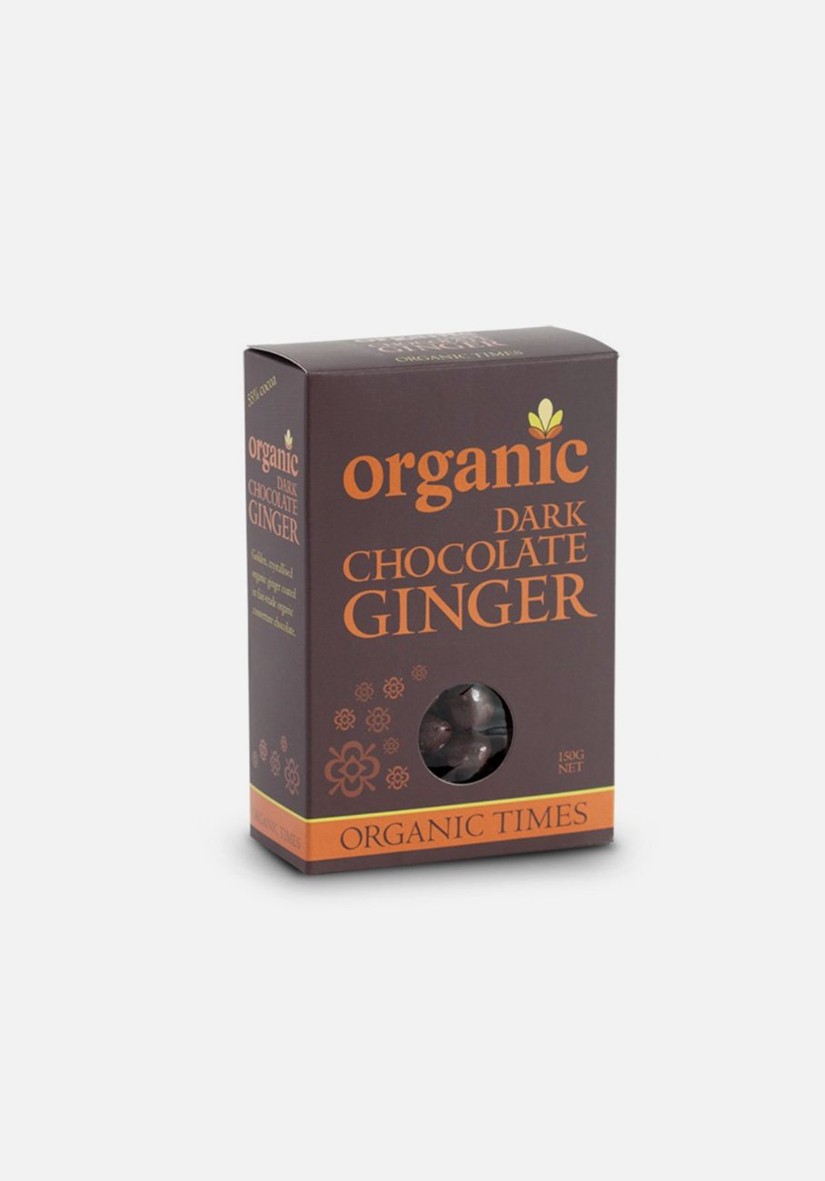 Organic Times - Milk Chocolate - Ginger
