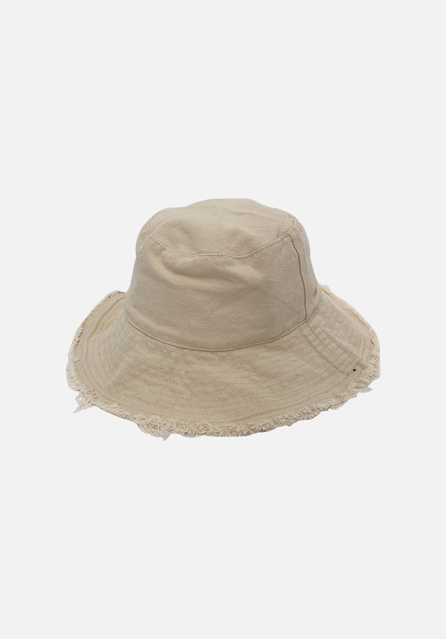 Miann & Co - Womens Bucket Hat - Natural