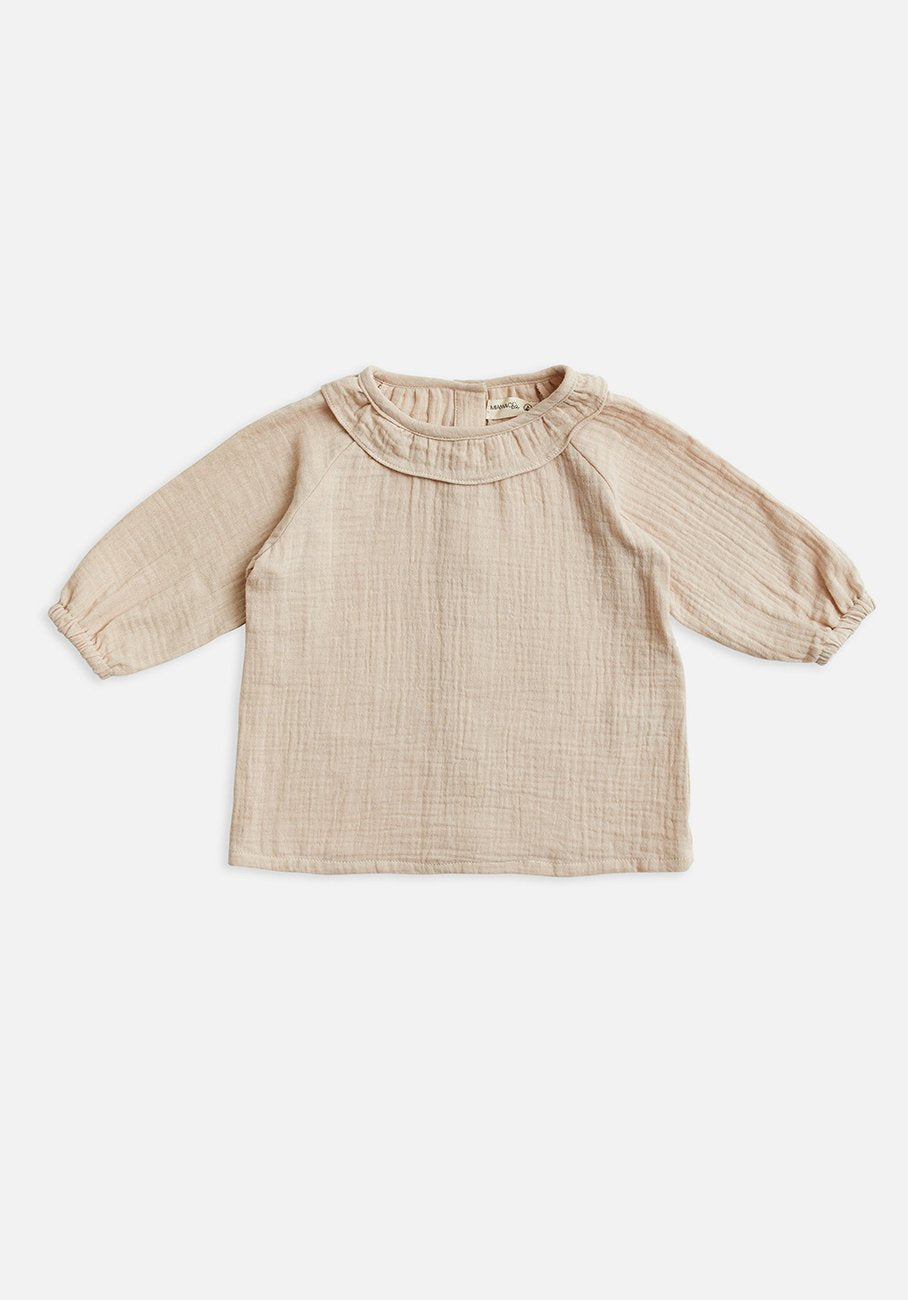 Miann & Co Kids - Frill Flowy Top - Pink Tint