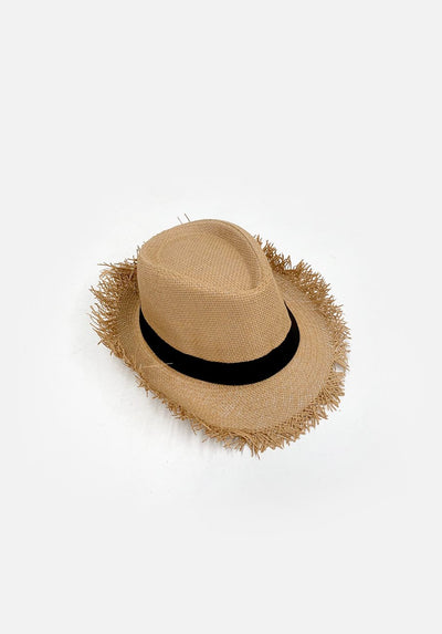 Womans Beach Hat - Tan
