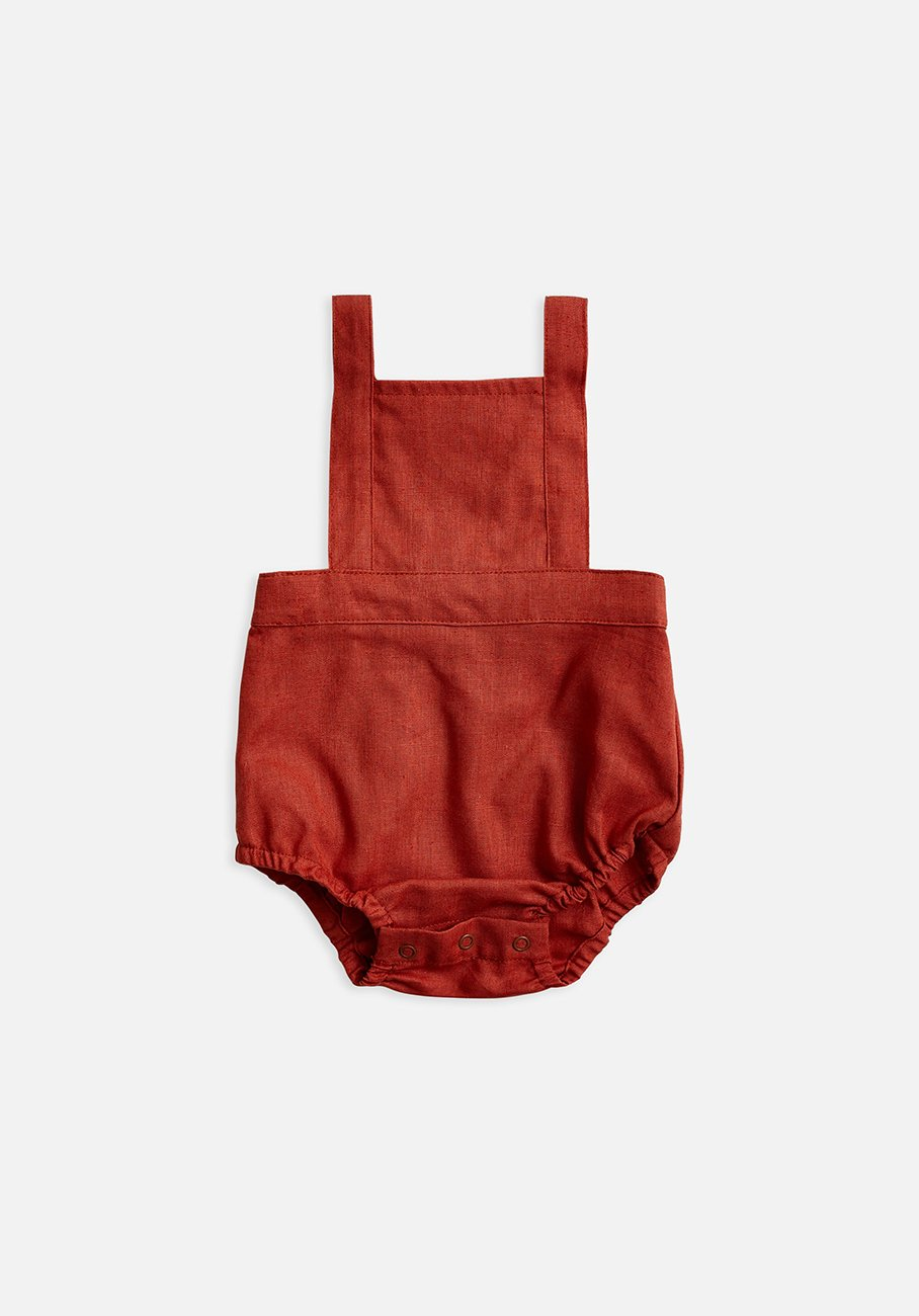 Miann & Co Baby - Overall Bodysuit - Rosewood