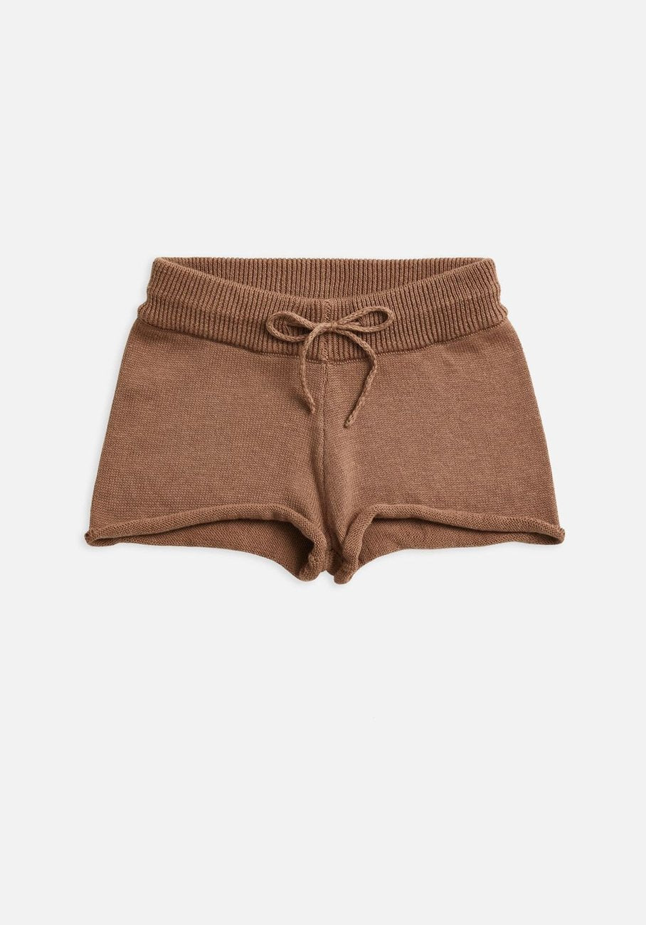 Miann & Co Kids - Knit Shorts - Café Au Lait