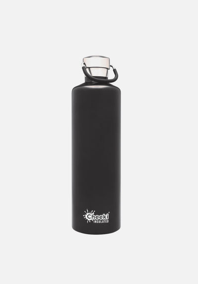 Cheeki - 1L Insulated Water Bottle - Matte Black