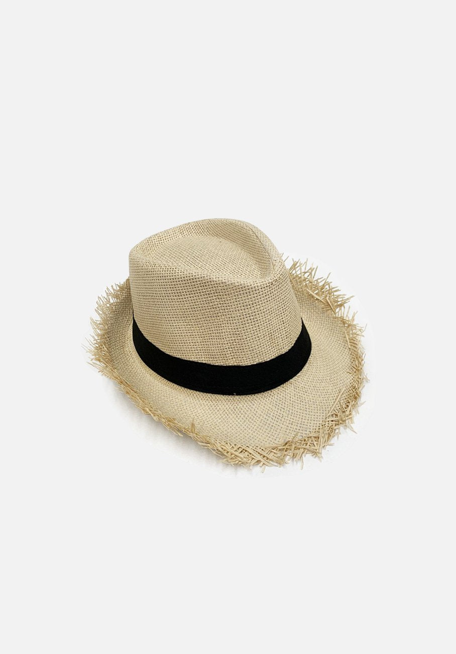 Womans Beach Hat - Beige