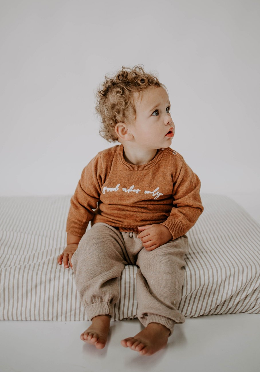 Miann & Co Baby - Knit Jumper - Good Vibes Only