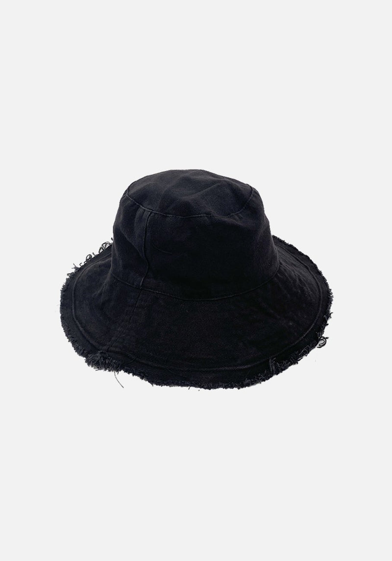 Miann & Co - Womens Bucket Hat - Ebony Black