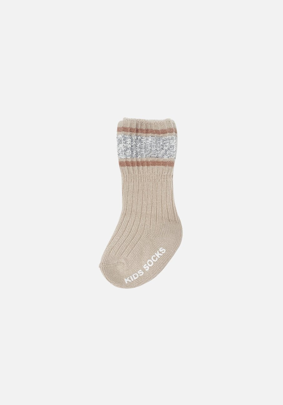 Barley Cotton Stripe Socks - Baby