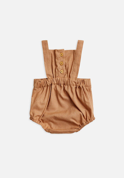 Miann & Co Baby - Overall Bodysuit - Maple Sugar