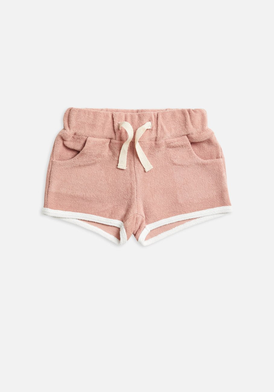 Miann & Co Baby - Terry Towelling Shorts - Blush