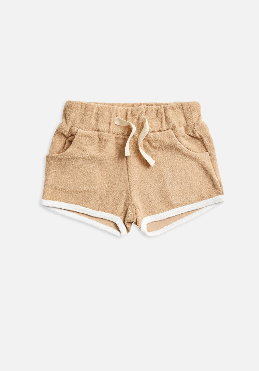 Miann & Co Kids - Terry Towelling Shorts - Clay