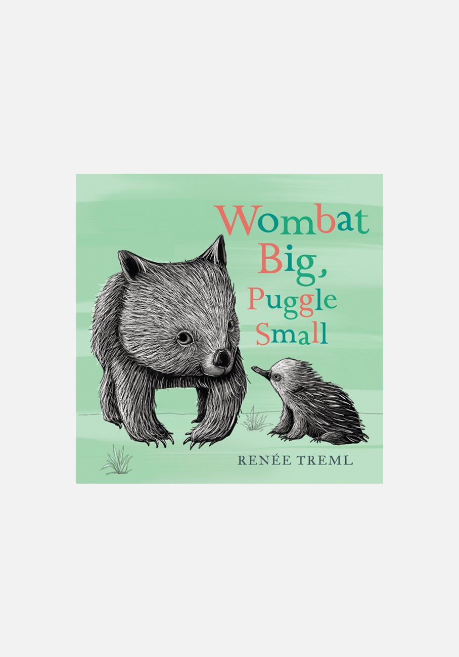 'Wombat Big, Puggle Small' by Renee Treml