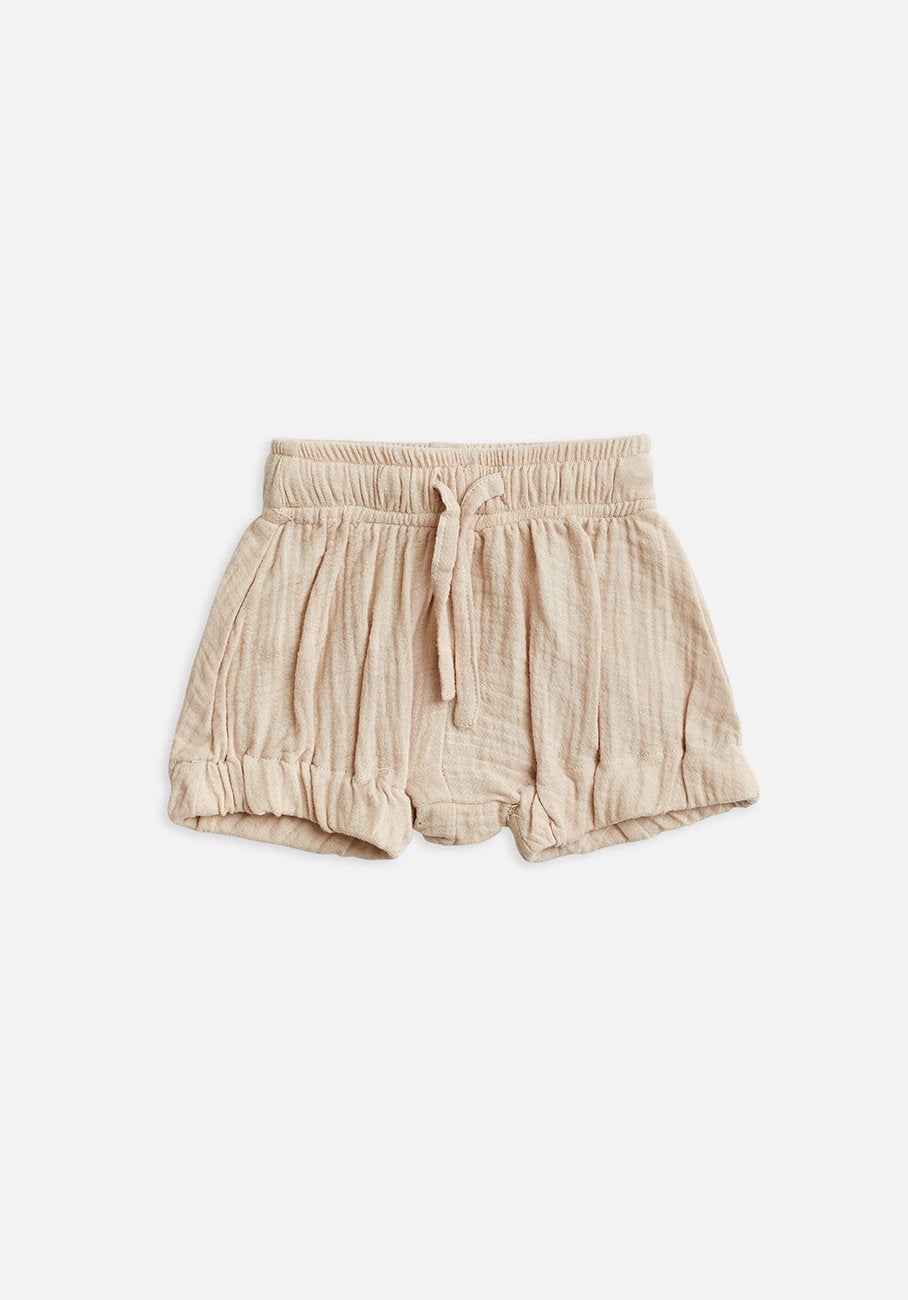 Miann & Co Kids - Woven Bloomer Shorts - Pink Tint
