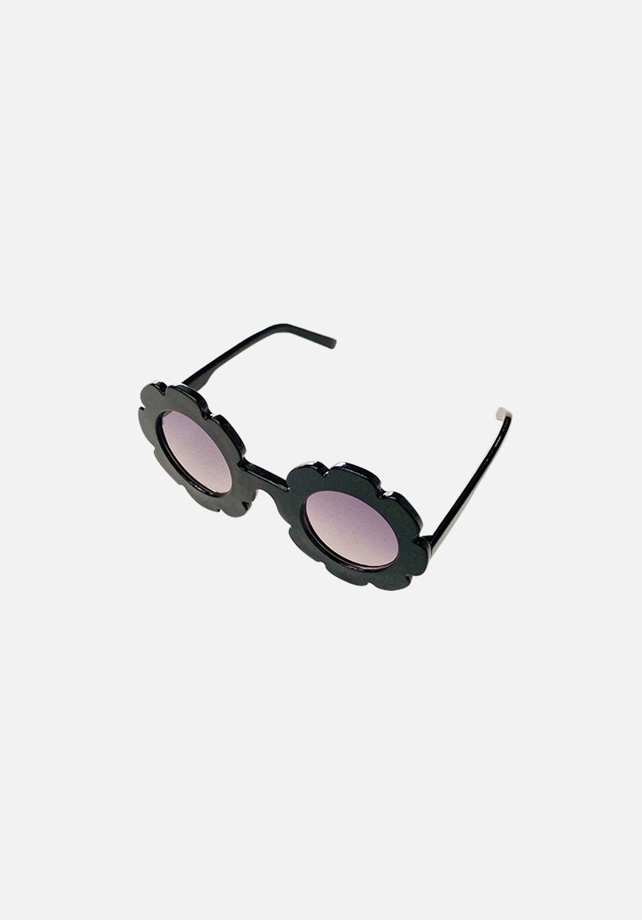 Kids Sunglasses - Flower - Midnight