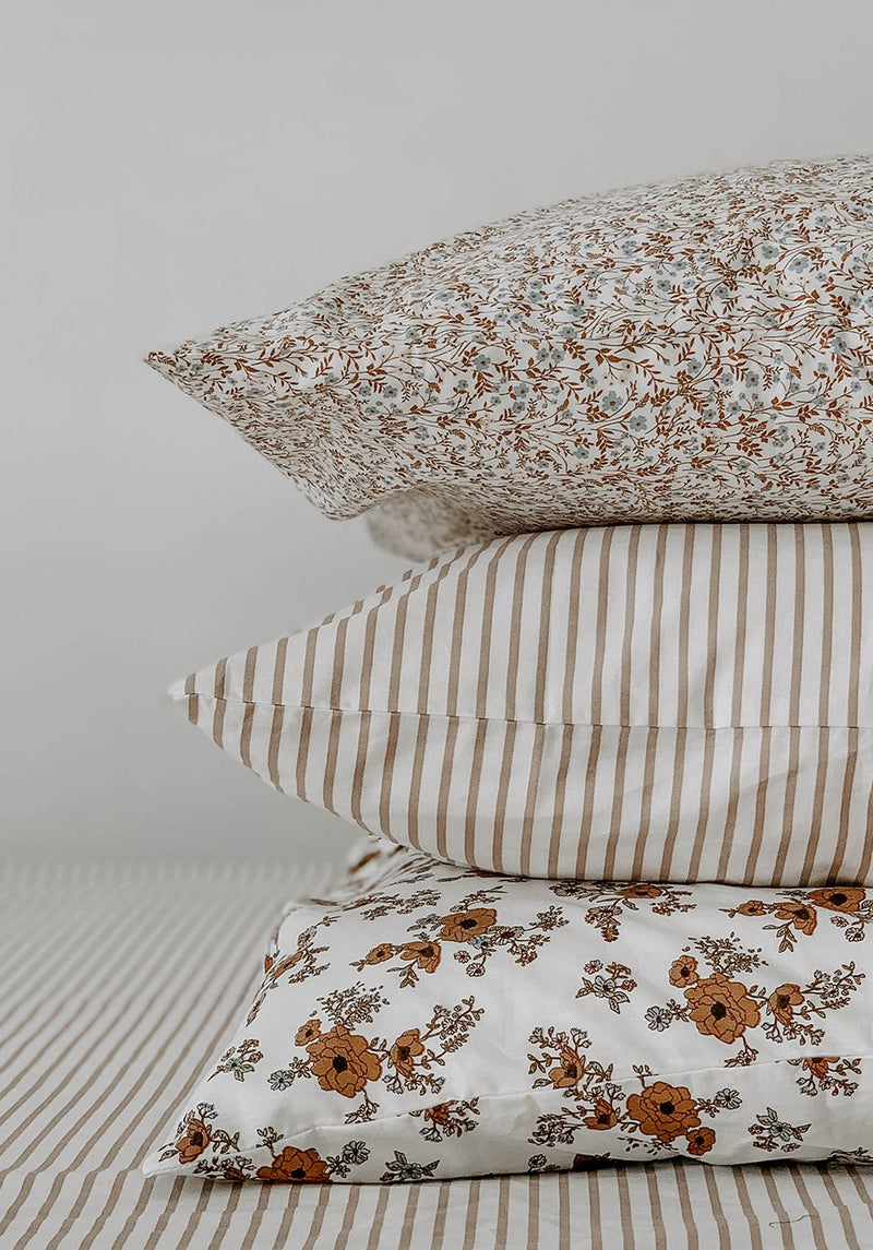 Miann & Co - Pillowcase Set - Prairie Wildflower