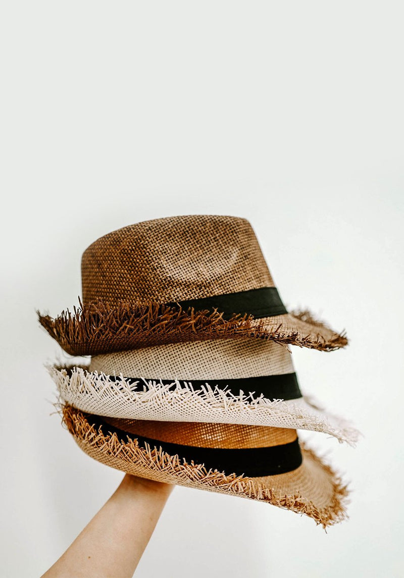 Womans Beach Hat - Cocoa