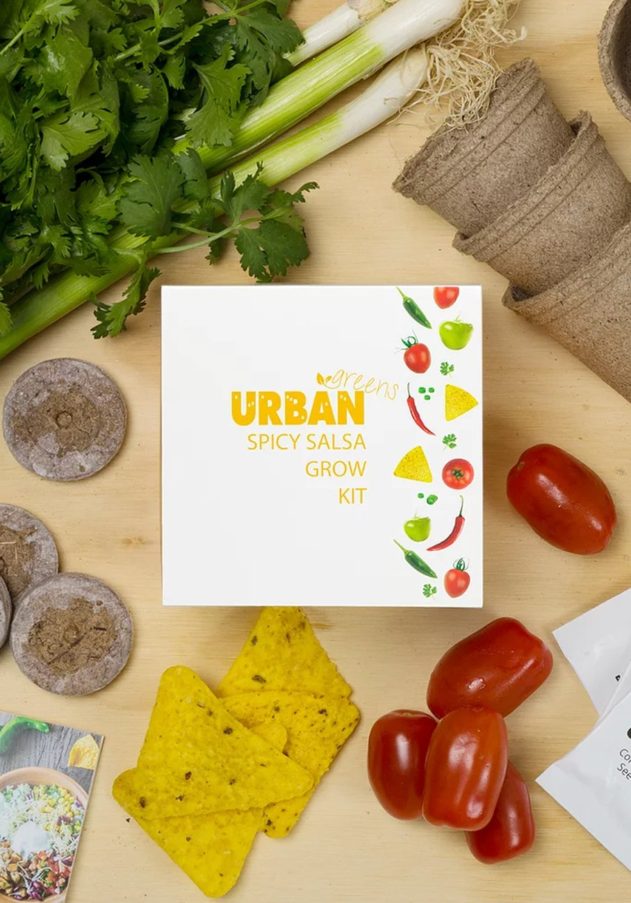 Urban Greens - Spicy Salsa Grow KIt
