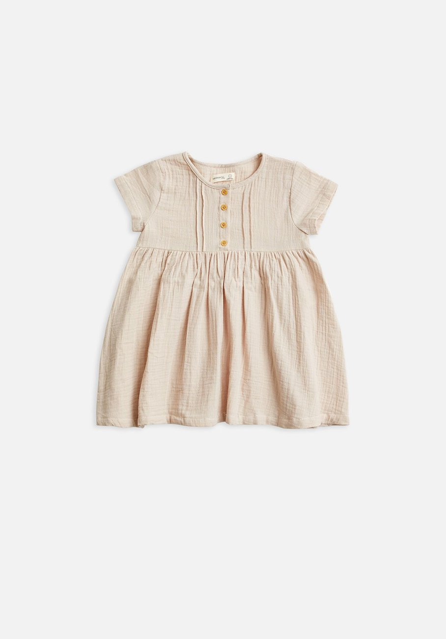 Kids pink pintuck dress
