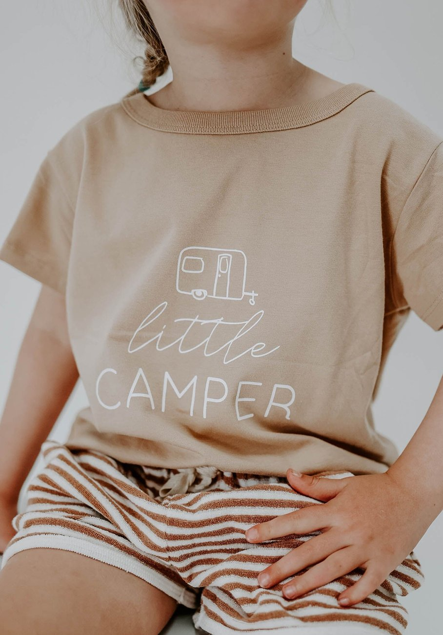 Miann & Co Kids - Boxy T-Shirt - Little Camper