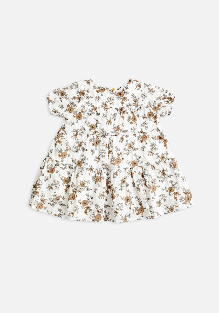 kids Tiered floral dress