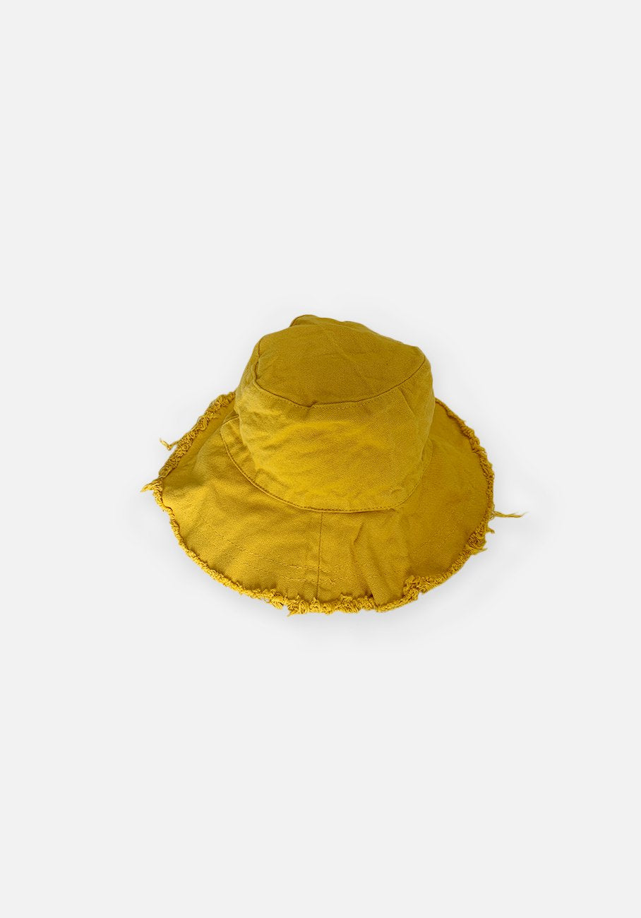 Floppy Bucket Hat - Daisy Yellow