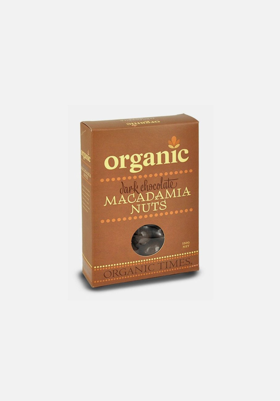 Organic Times - Dark Chocolate - Macadamia Nuts