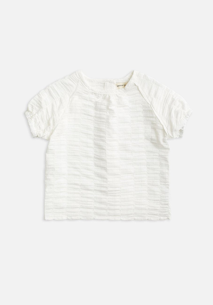 kids white shirt