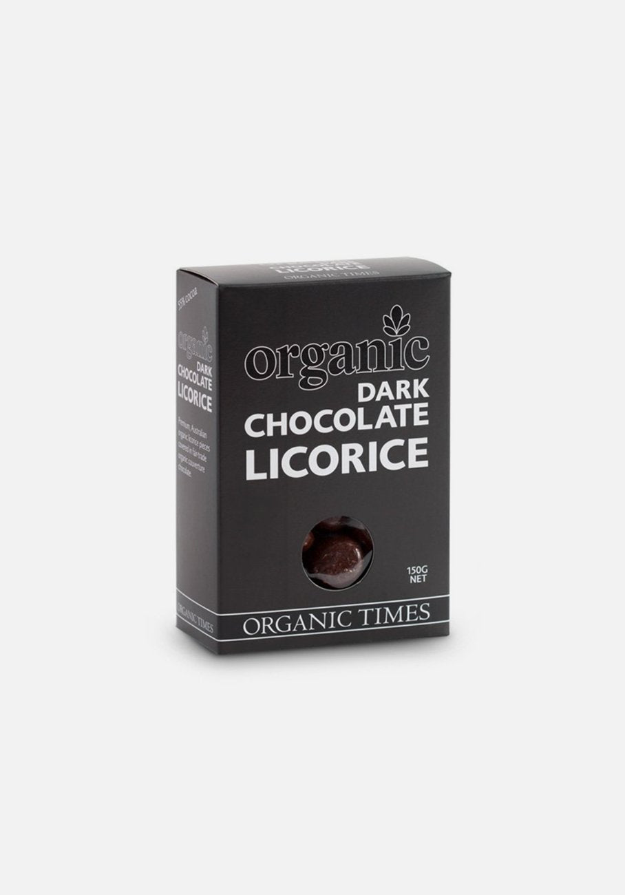 Organic Times - Dark Chocolate - Licorice
