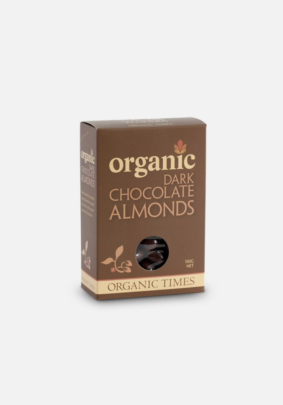 Organic Times - Dark Chocolate - Almonds