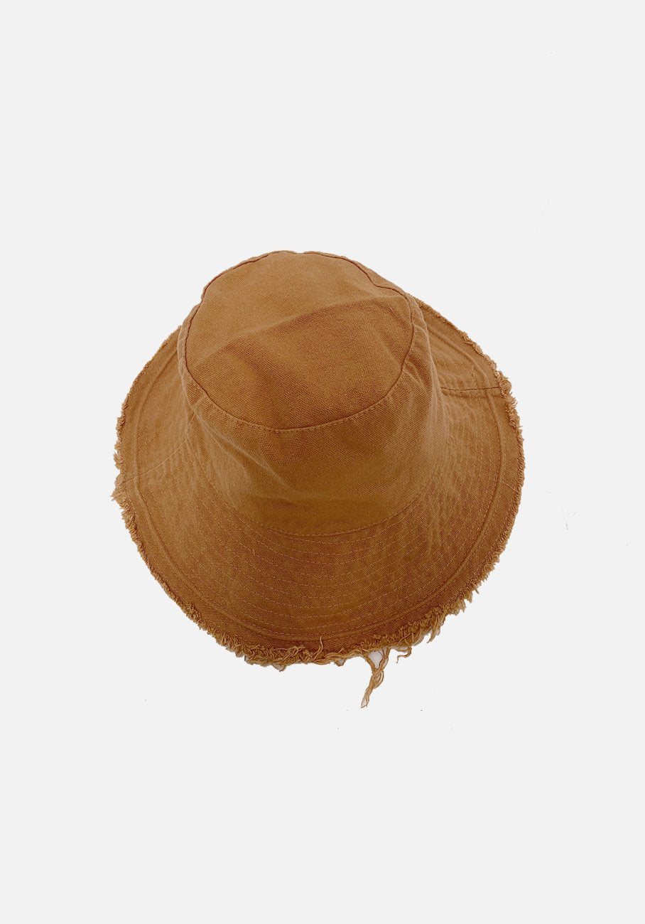 Miann & Co - Womens Bucket Hat - Cinnamon