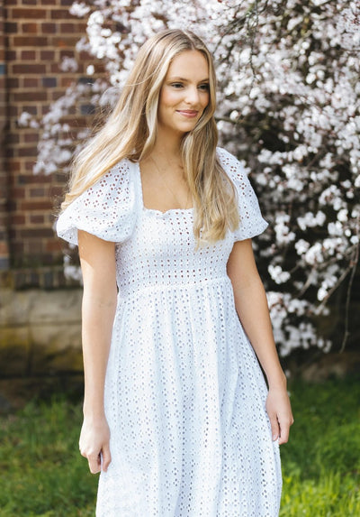 Womens white Alana dress