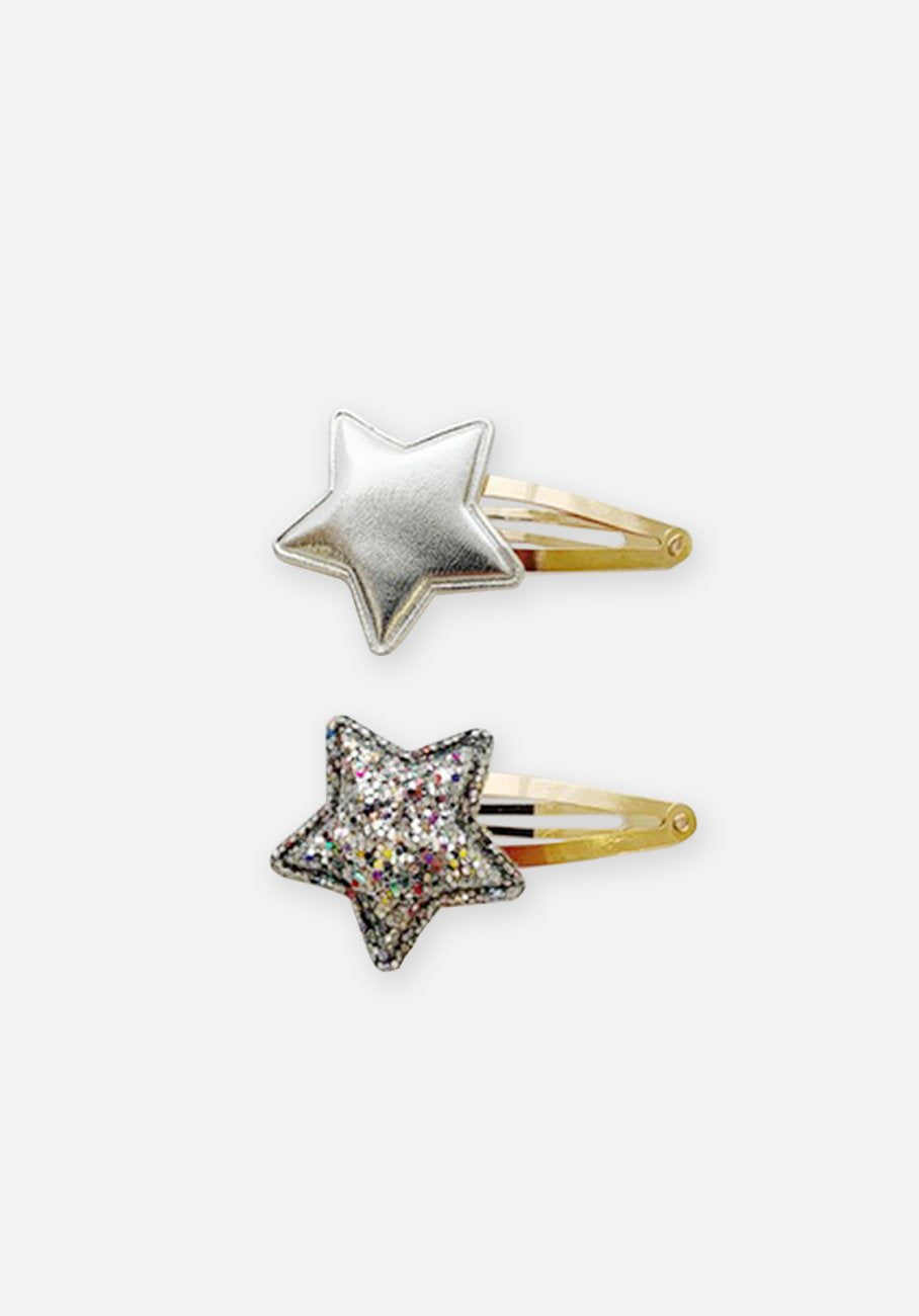Small Hair Clip - Sliver Star