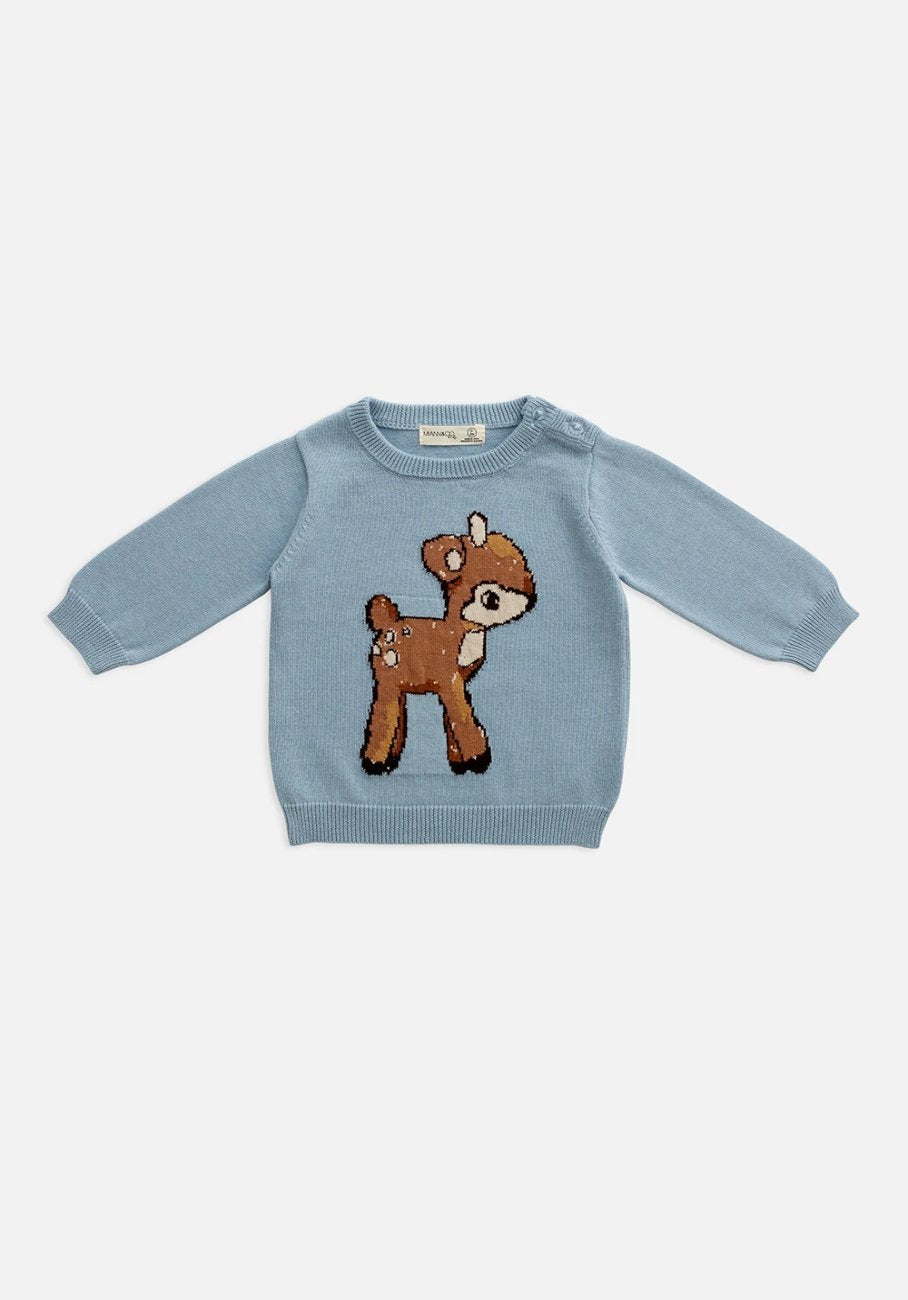 Miann & Co Baby - Knit Jumper - Baby Deer