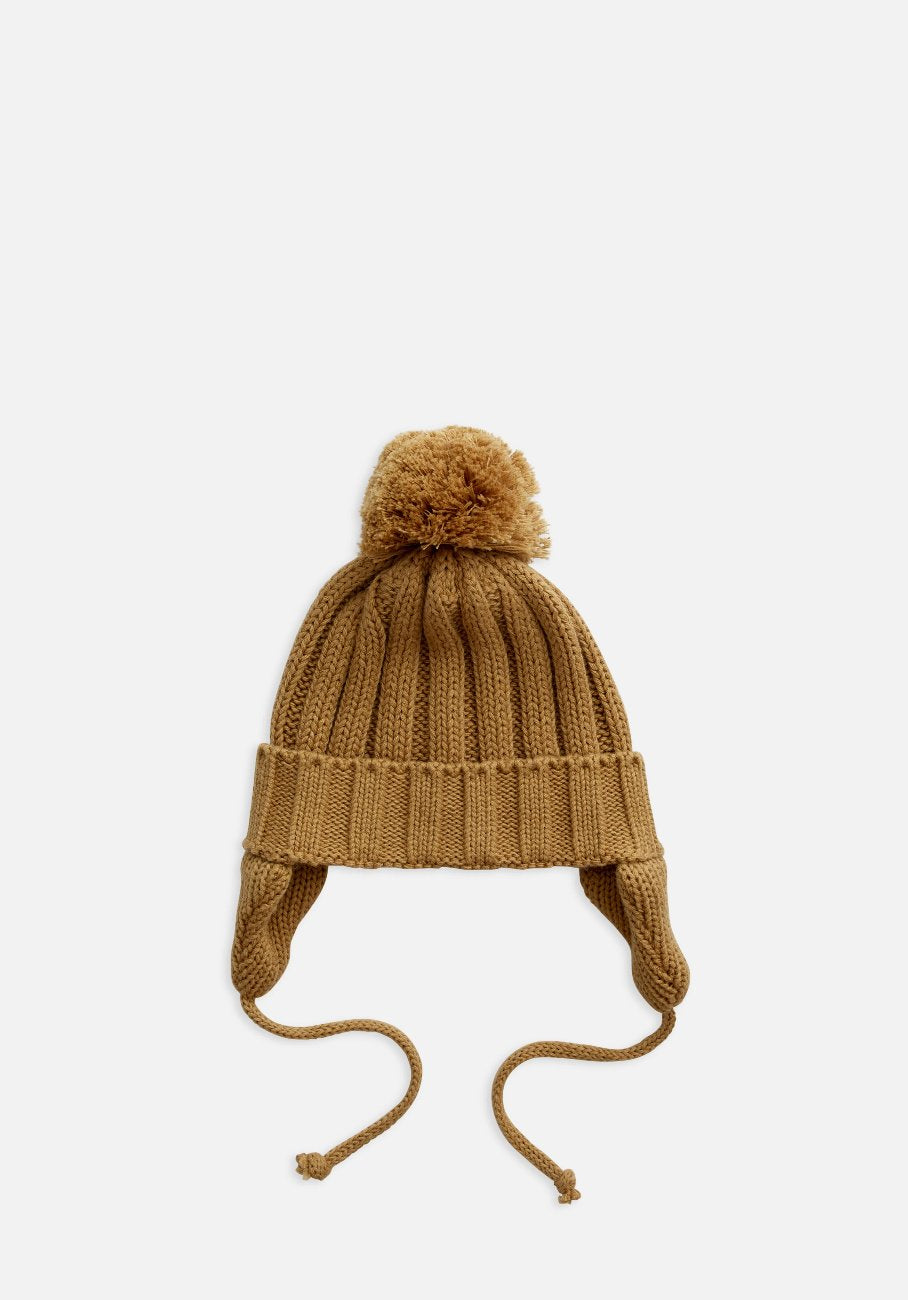 Miann & Co Baby/Kids - Rib Knit Beanie - Peanut Brittle
