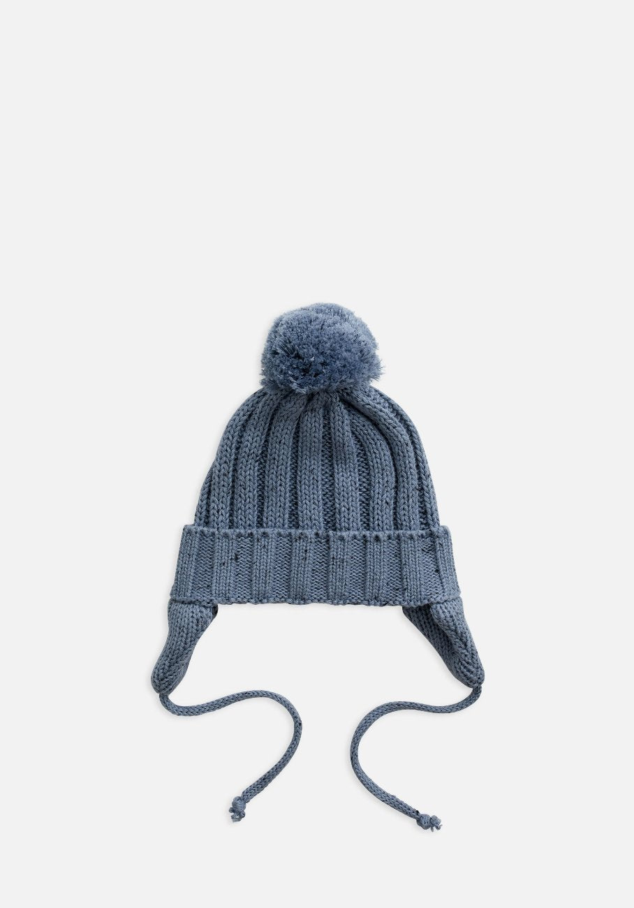 Miann & Co Baby/Kids - Rib Knit Beanie - Slate