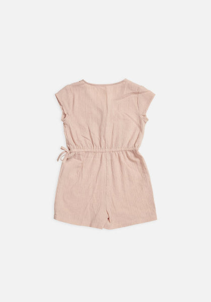 Miann & Co Baby - Wrap Short Overalls - Spanish Villa - MIANN & CO