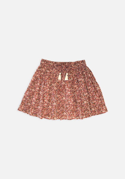 Miann & Co Kids - Tassel Circle Skirt - Summer Bloom