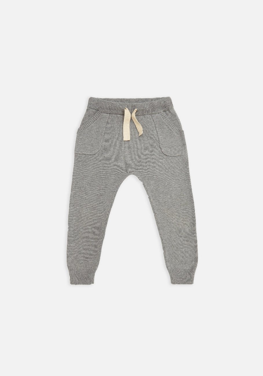 Miann & Co Baby – Knit Pants – Grey - MIANN & CO