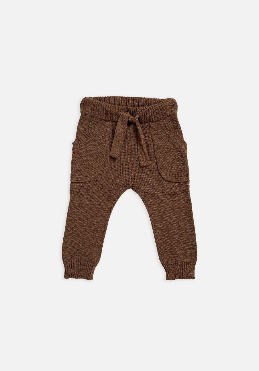 Miann & Co Baby – Knit Pants – Portebello - MIANN & CO