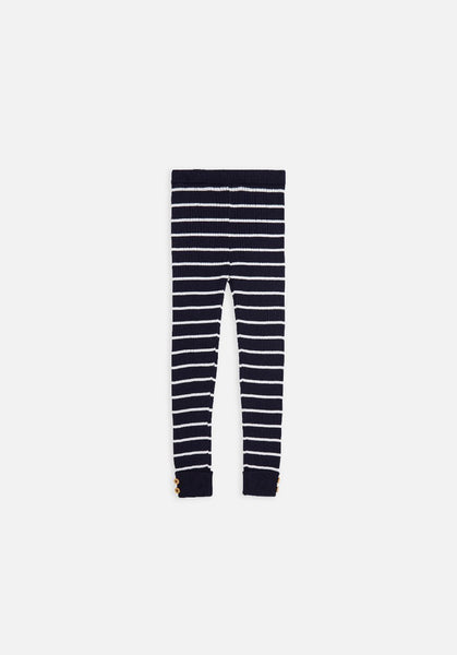 Miann & Co Kids - Rib Legging - Navy Stripe