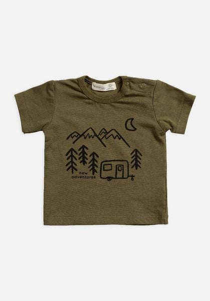 Miann & Co Baby - Short Sleeve T-Shirt - Portebello - MIANN & CO