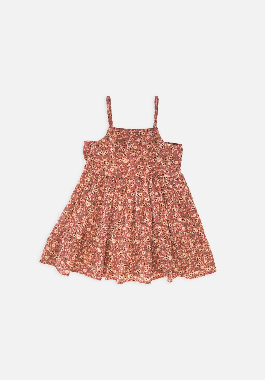 Miann & Co Kids - Strappy Dress - Summer Bloom