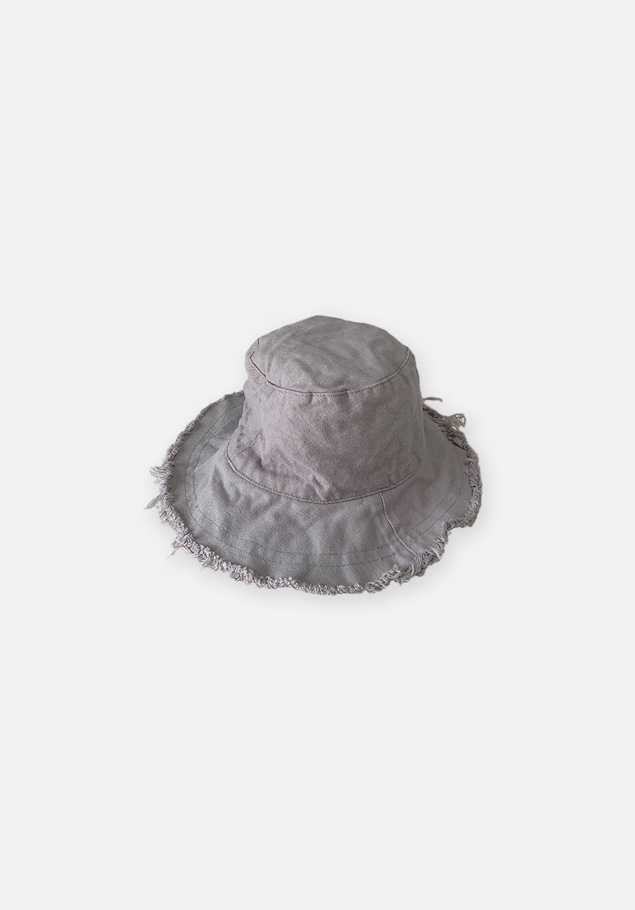 Floppy Bucket Hat - Pearl