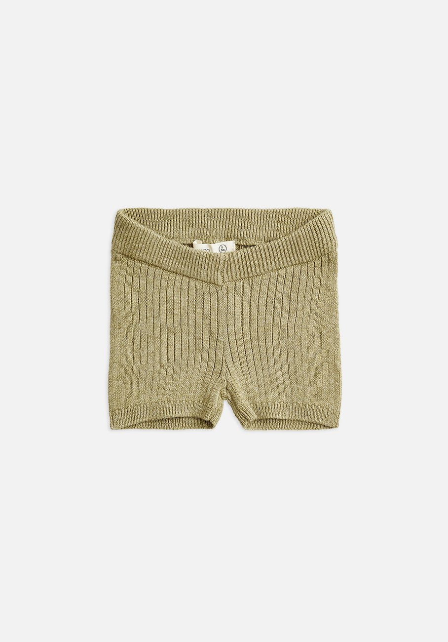 Miann & Co Baby - Knitted Bike Shorts - Forest