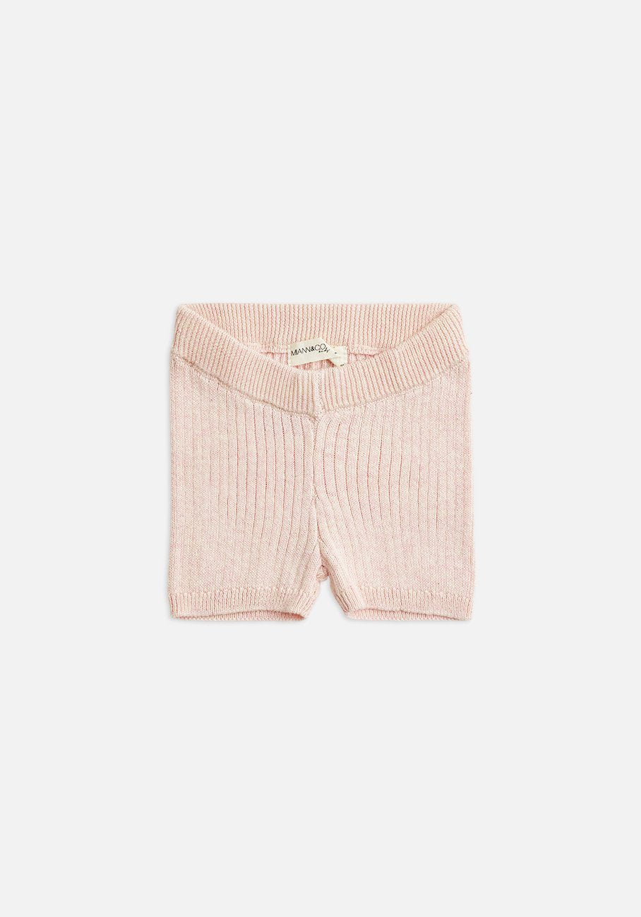 Miann & Co Kids - Knitted Bike Shorts - Petal