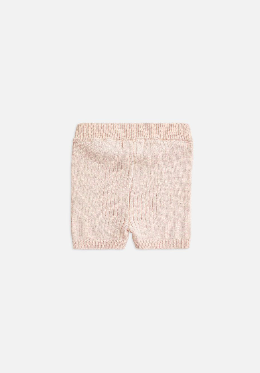 Miann & Co Baby - Knitted Bike Shorts - Petal